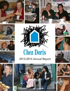 Chez Doris annual report 2013-14