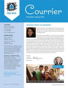 Chez Doris Newsletter Spring 2015
