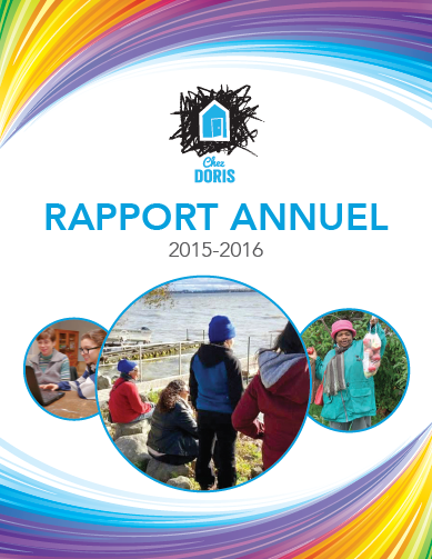 ChezDoris_rapport annuel 2015-2016_FR