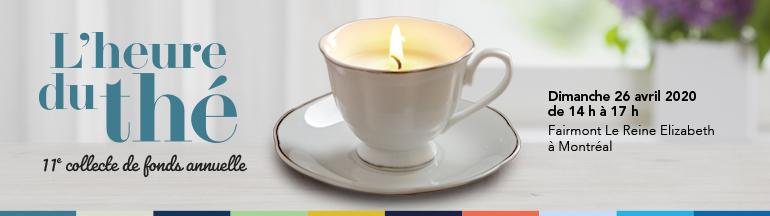 L'Heure du thé – 26 avril 2020 de 14 h à 17 h